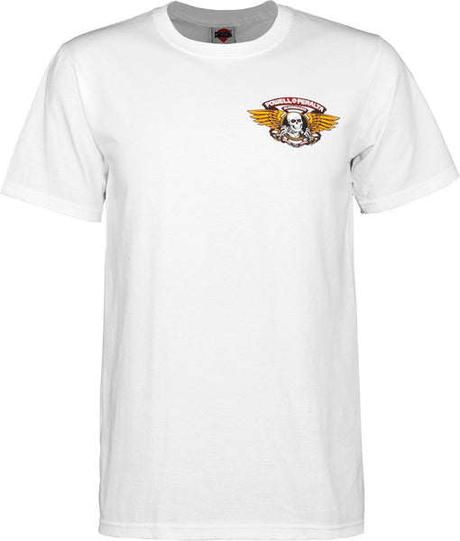 Powell Peralta Wing Ripper White T-Shirt