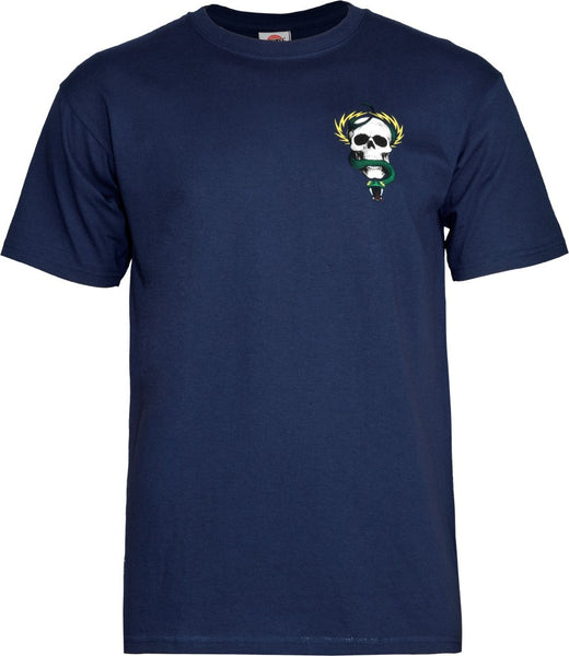 Powell Peralta Mike McGill Skull & Snake Navy T-shirt