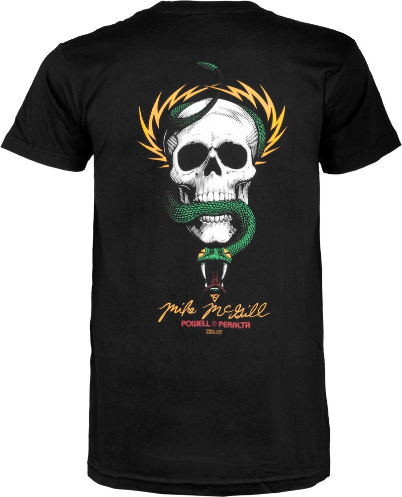 Powell Peralta Mike McGill Skull & Snake Black T-shirt