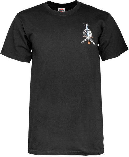 Powell Peralta Ray Rodrigues Skull & Sword Black T-shirt
