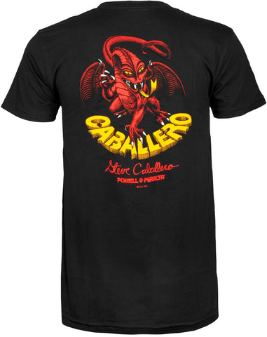 Powell Peralta Steve Caballero Original Dragon Black T-Shirt