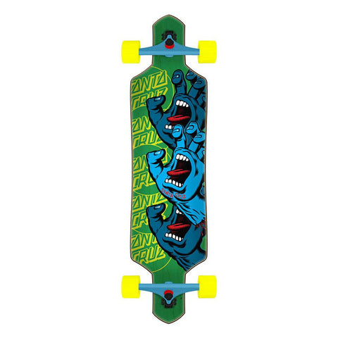 Santa Cruz Screaming Hand Stack Longboard