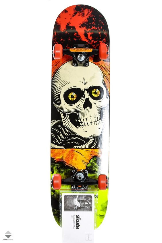 Powell Peralta Ripper Storm Complete Red/Lime