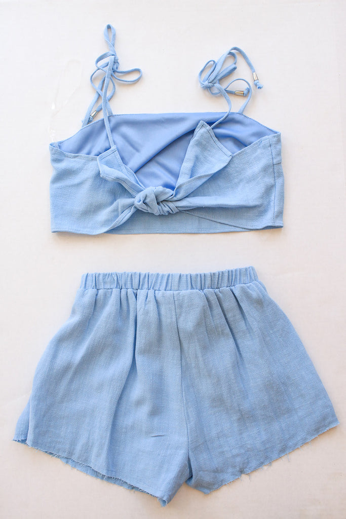 Light Blue Two Piece Set