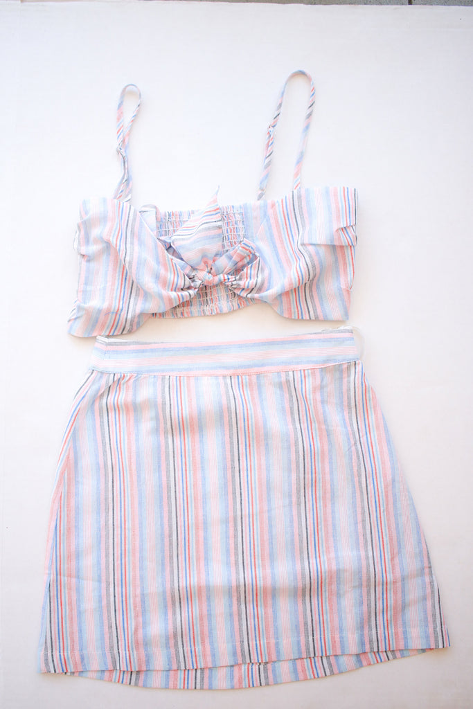 candy Striped Two Piece set