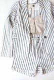 Holly Blue Striped Blazer