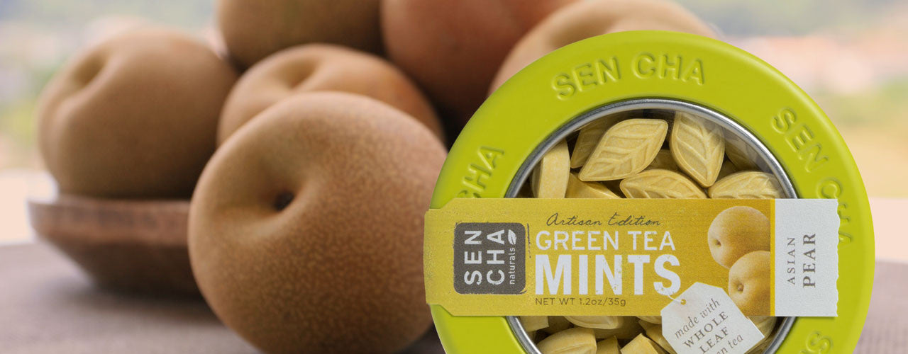 Asian Pear Green Tea Mints