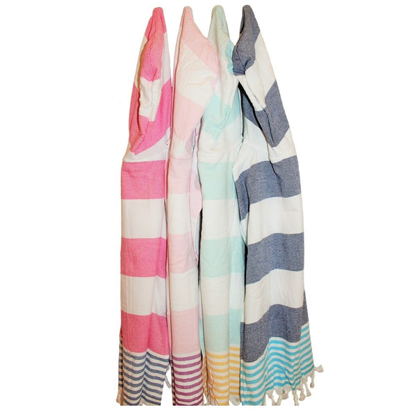 Luxury beach wear for little water lovers - a hooded poncho is a must have this Summer season