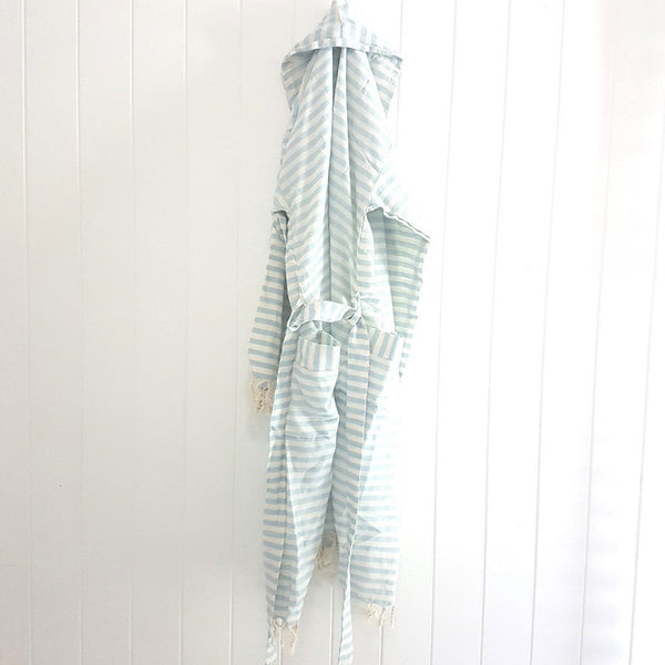 Cabana Linen Robe - luxury and style for the bath or pool - spoil yourself