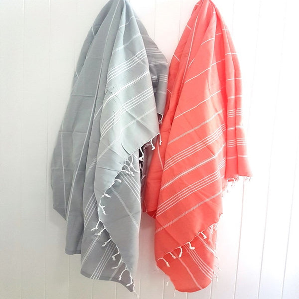 Coral beach blanket for beach home travel style