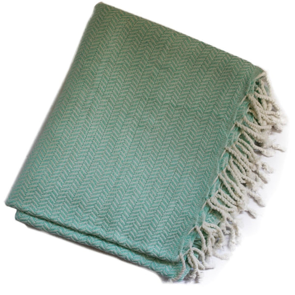 WATEGOS Mint - a beautiful shade that looks magical on the sand, in the bathroom or wrapped around you - a Turkish towel - that can be so much more than a towel