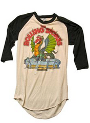 A Vintage Rolling Stones T-shirt from the 1960's
