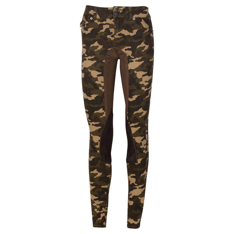 Camo Gypsy Stretch Jean