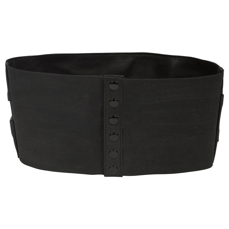 Leather Cumberbund Belt