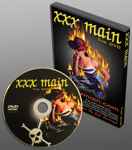 xxx main THE DVD (SOLD OUT)