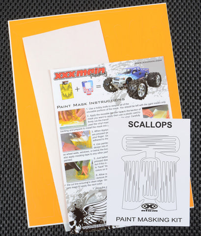 Scallops Paint Mask Kit