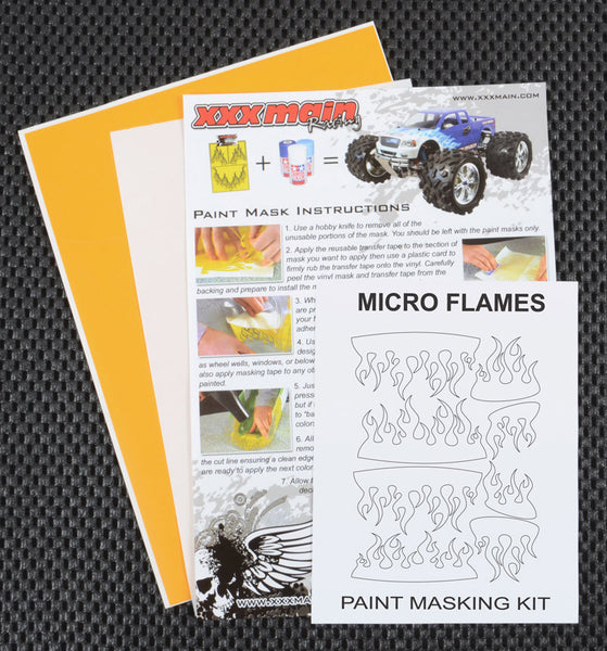 Micro Flames Paint Mask Kit