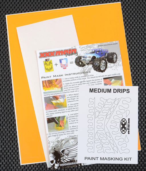 Medium Drips Paint Mask Kit