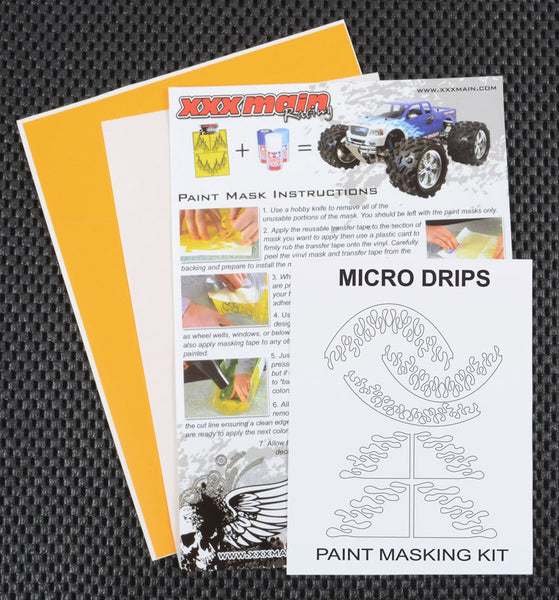 Micro Drips Paint Mask Kit