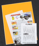Flames Paint Mask Kit