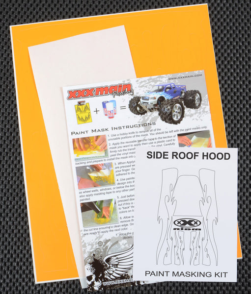 Side Roof Hood Paint Mask Kit