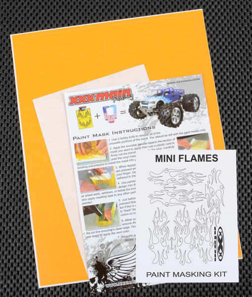 Mini Flames Paint Mask Kit
