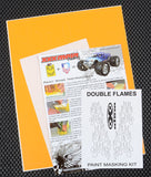 Double Flames Paint Mask Kit