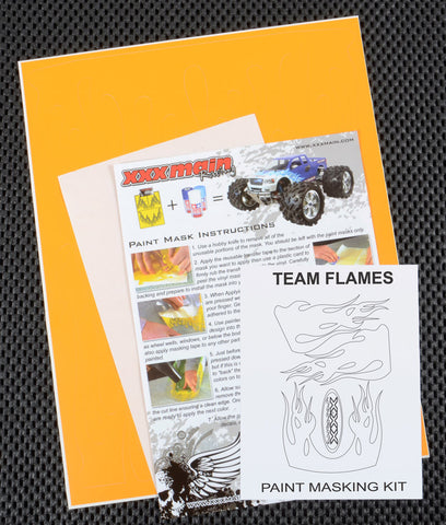 Team Flames Paint Mask Kit