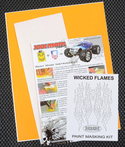 Wicked Flames Paint Mask Kit