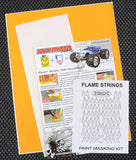 Flame Strings Paint Mask Kit