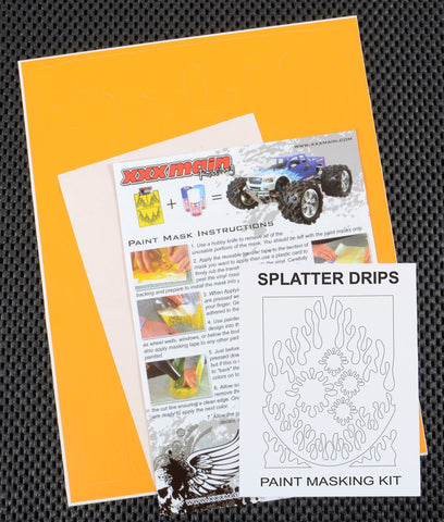 Splatter Drips Paint Mask Kit