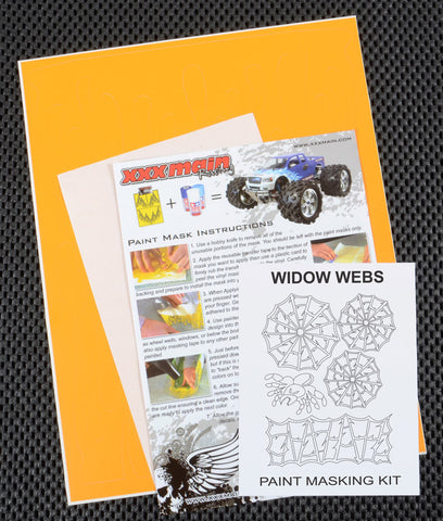 Widow Webs Paint Mask Kit