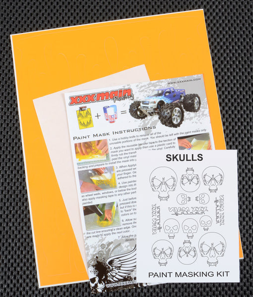 Skulls Paint Mask Kit