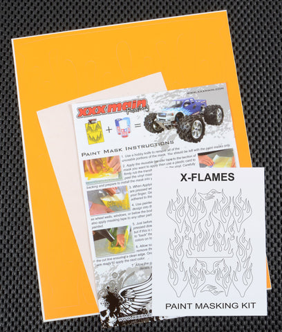 X Flames Paint Mask Kit