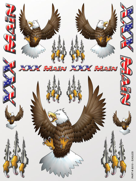 Eagles Sticker Sheet