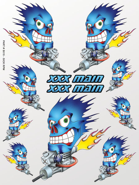Sick RPM Sticker Sheet