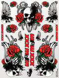 Skulls & Roses Sticker Sheet