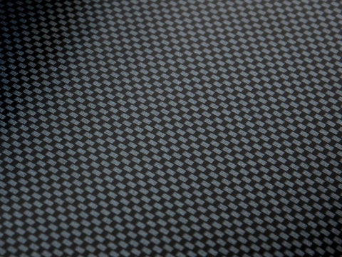 Carbon Fiber Blank Sticker 6""