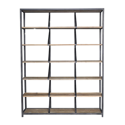 French Country Abbey Industrial Shelf