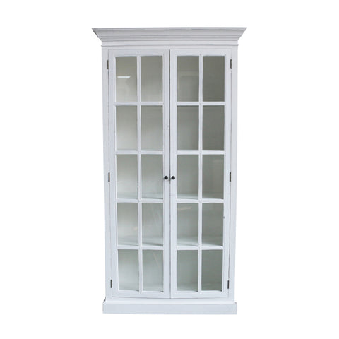 French Country Montigue White Cabinet