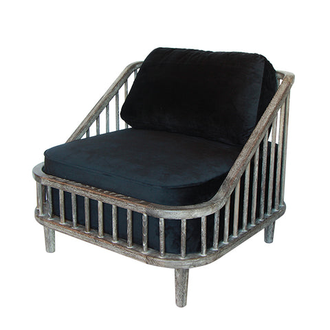 Dane Slatted Chair
