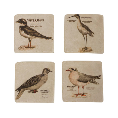 SET 4 Seagull Coasters
