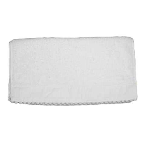 Single White Bauble Hand Towels