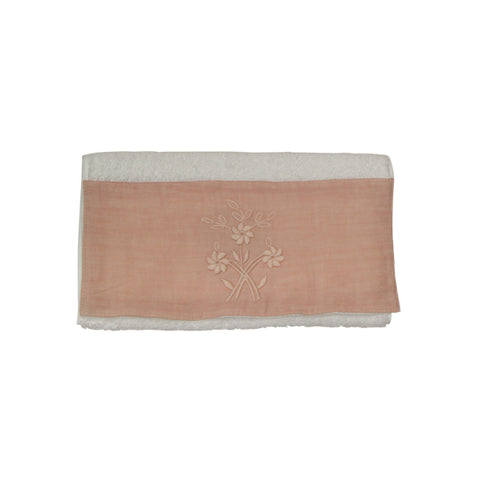 Small Flower Handtowel Blush
