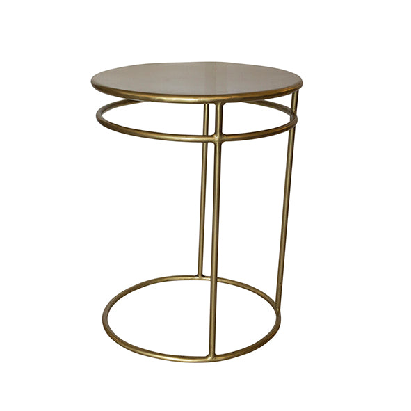 Cooper Oval Soft Bronze Table