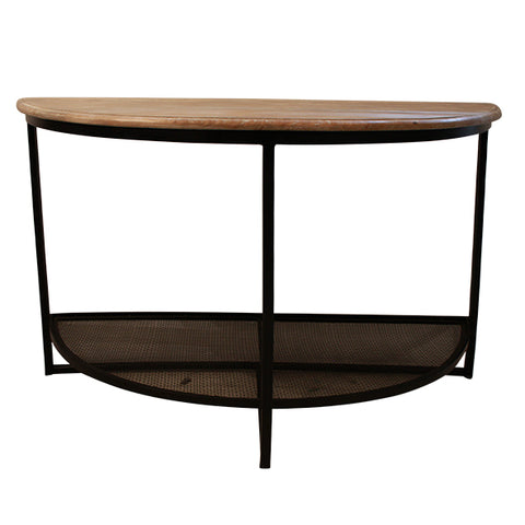 Thelma Half Round Console Table