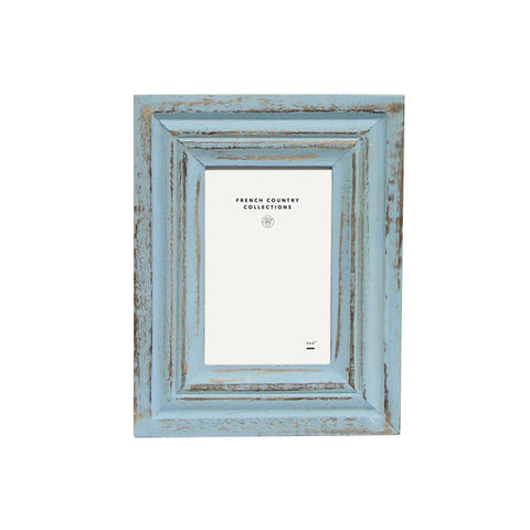 Light Blue Washed Frame 4x6