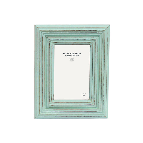 Light Green Washed Frame 4x6