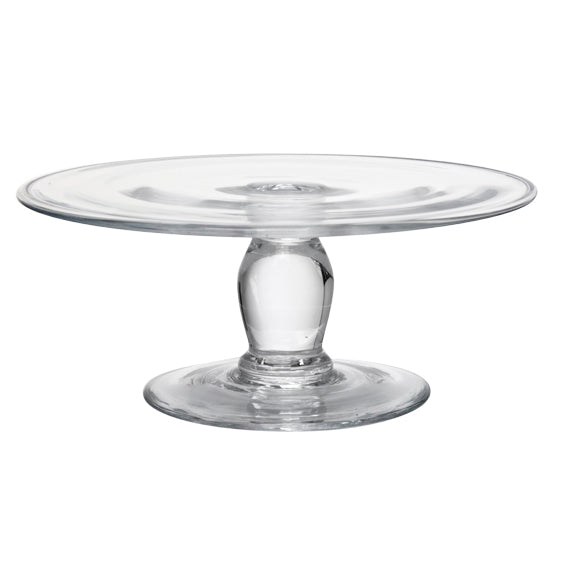 Short Glass Cake Stand