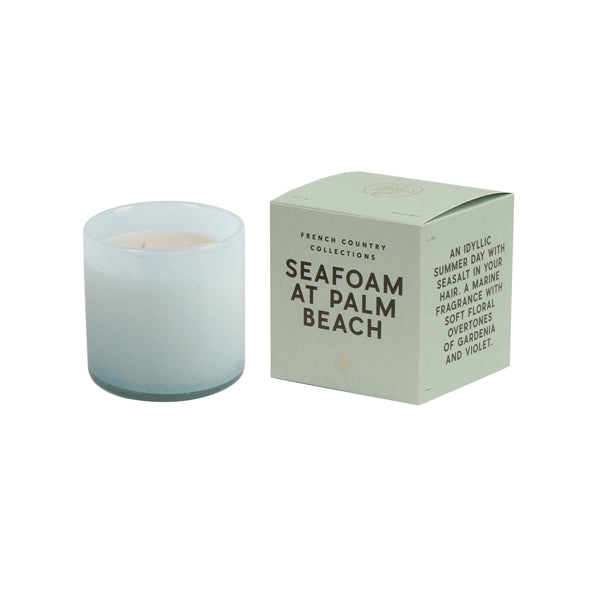 Seafoam at Palm Beach Glass Candle
